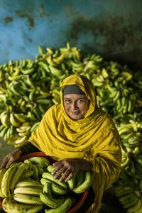 A Banana Farmer in Bangladesh by Jim Richardson