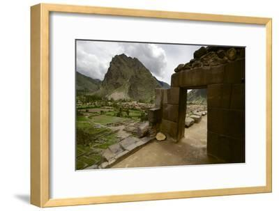 Ancient Pre-Columbian Inca Ruins