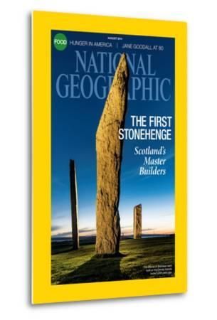 Cover of the August, 2014 National Geographic Magazine