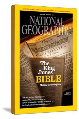 Cover of the December, 2011 National Geographic Magazine