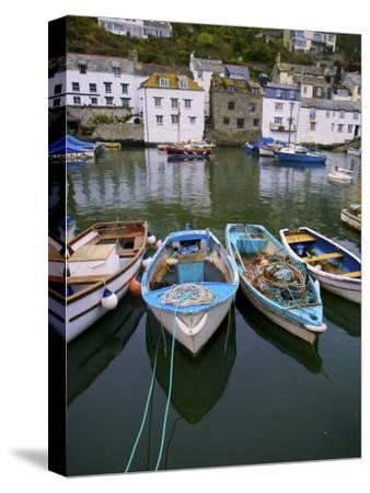 Scenic View of Boats in the Harbor in Polperro