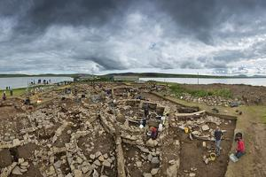The Archeology Dig Site at the Ness of Brodgar in Orkney That Is Revealing a Neolithic Sacred Site by Jim Richardson