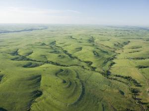 The Flint Hills of Kansas by Jim Richardson