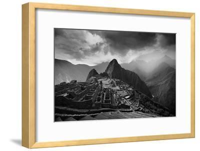 The Pre-Columbian Inca Ruins of Machu Picchu