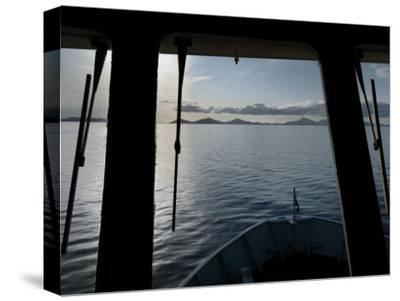 View from the Pilot House of a Ferry from Oban to Castlebay, Barra