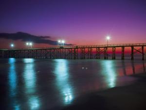 Bay Co.Pier, Gulf of Mexico, Panama City Beach, FL by Jim Schwabel