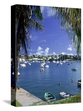 Boat in Harbor, Hamilton, Bermuda