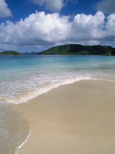 Cinnamon Beach, Virgin Island National Park, St. John by Jim Schwabel