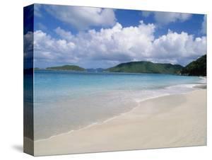Cinnamon Beach, Virgin Islands National Park, St. John by Jim Schwabel