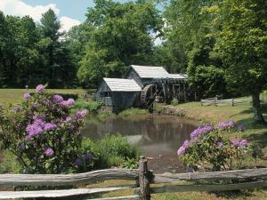 Mabry Mill, Blue Rdgparkway by Jim Schwabel