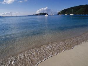 Maho Bay, Virgin Islands National Park, St. John by Jim Schwabel