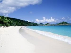 Trunk Bay Beach, St. John by Jim Schwabel