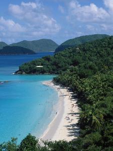 Trunk Bay, Virgin Islands National Park, St. John by Jim Schwabel