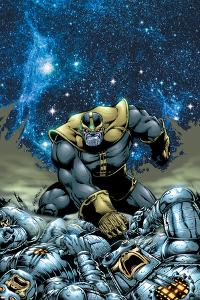 Thanos No.4 Cover: Thanos by Jim Starlin