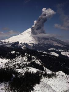 Mount St. Helens Erupts by Jim Sugar
