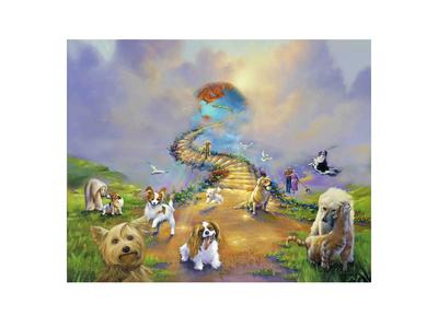 All Dogs Go To Heaven 4 Soft Sky