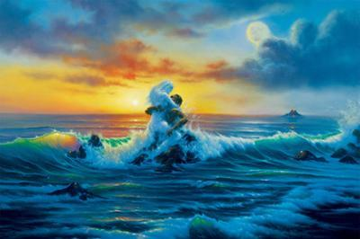 At Sunset by Jim Warren