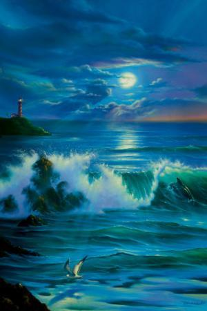 Moonlit Romance by Jim Warren