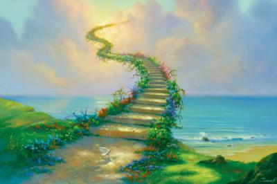Stairway to Heaven by Jim Warren