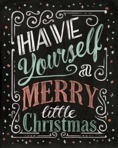 Holiday Chalk IV by Jim Wellington