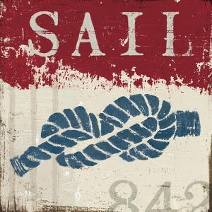 Nautical III Red by Jim Wellington