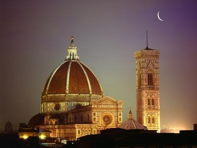 Duomo and Campanile of Santa Maria del Fiore Seen from the West