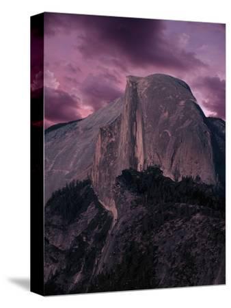 Purple Sky over Half Dome
