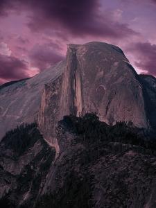 Purple Sky over Half Dome by Jim Zuckerman