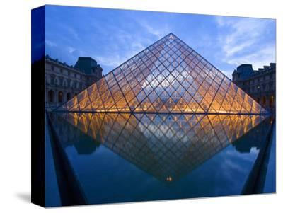 The Louvre at Twilight, Paris, France