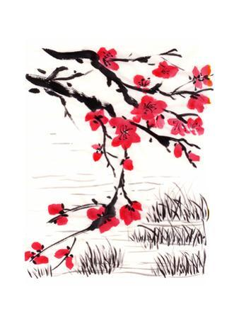 Chinese Painting Blossom by jim80