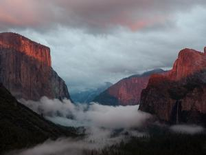 Fog Settles over Yosemite Valley by Jimmy Chin