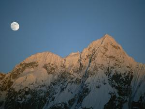 Moonrise over Charakusa Valley, Karakoram, Pakistan by Jimmy Chin
