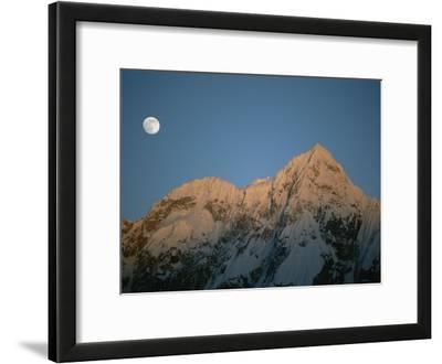 Moonrise over Charakusa Valley, Karakoram, Pakistan