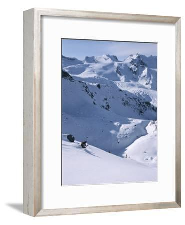 Skiing in the Selkirk Range, British Columbia, Canada