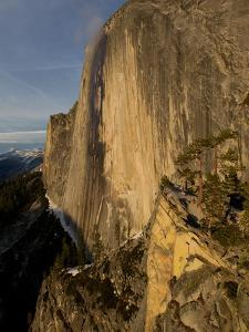 The Northwest Face of Half Dome Peak in Yosemite National Park by Jimmy Chin