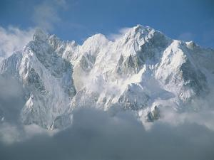 View of the Karakoram Ranges Snow-Covered K6 after a Storm by Jimmy Chin