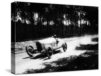 Jimmy Murphy Driving a Duesenberg to Victory in the French Grand Prix, Le Mans, 1921