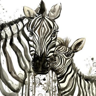 Zebra Cuddles