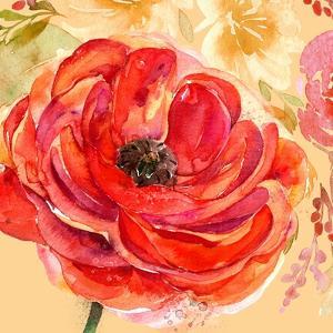 Festive Flowers 1 by Jing Jin