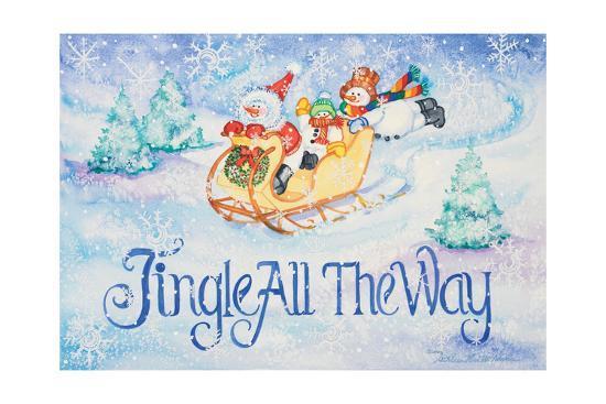 Jingle All the Way-Kathleen Parr McKenna-Art Print