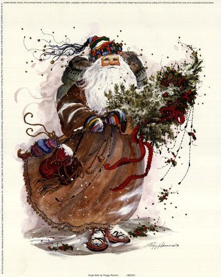 Jingle Bells-Peggy Abrams-Art Print