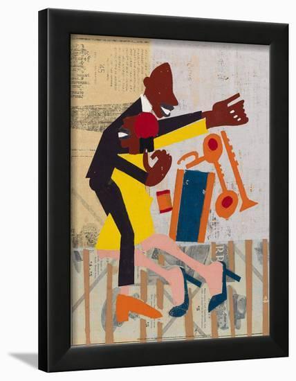 Jitter Bugs-William H. Johnson-Framed Art Print