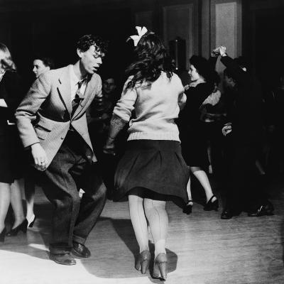 Jitterbugs at an Elk's Club Dance, in Washington, D.C. April 1943--Photo