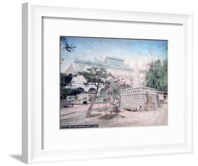 Jiyutey Hotel, Nakanoshima Park, Osaka, Japan--Framed Giclee Print