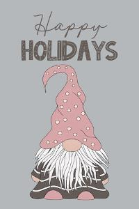 Happy Holidays Gnome by JJ Design House
