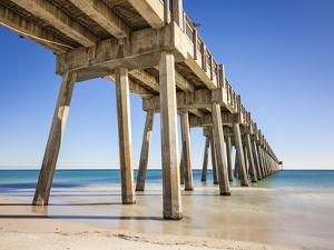 Pensacola Beach Pier is Located on Casino Beach. the Pier is 1,471 Feet Long, and Boasts Some of Th by JJM Photography