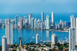 Cartagena Skyscapers by jkraft5