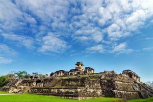Palenque Palace View by jkraft5