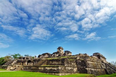 Palenque Palace View
