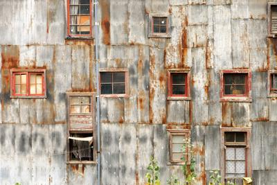 Rustic Wall and Windows